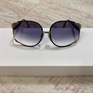Vintage Christian Dior 2250 Leather Wrap Sunnies